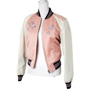 💯 Brand New Coach Pink Crush Jacket MSRP $598